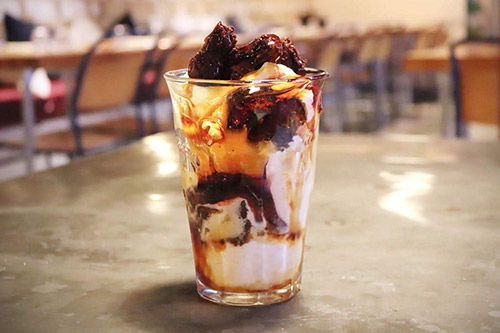 Sundae at Farmhouse Restaurant Essex